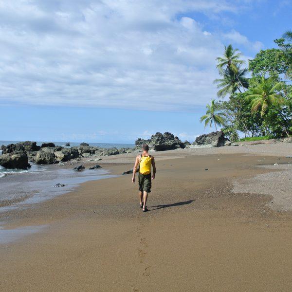 Beach Hike Drake Bay