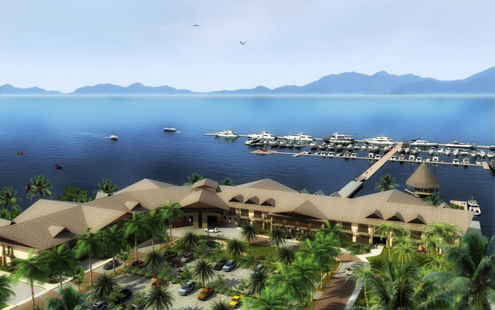 Hilton hotel Puerto Jimenez
